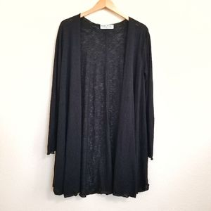 NWT Urban Outfitters Black Open Cardigan